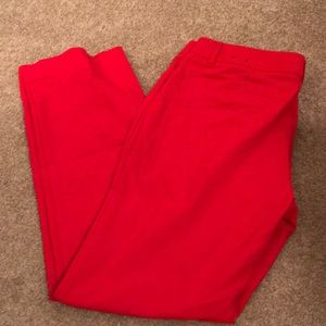 Red express (editor) pants